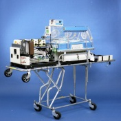 2016_128_002. Neonatal Transport Program, ground transport incubator system, 1990.
