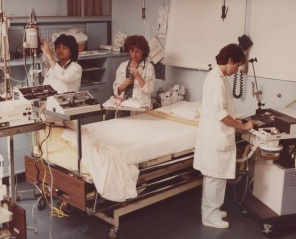 Clinical: GH7 setting up for an admission