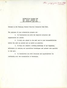 F3SF4S3. Orientation materials, 1967.