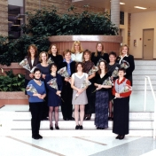 HSC2011/2 Class of October 1999. Back row: Jacquie Delaney, Ann Wojcik, Lori Szot, Faye Pearce, Clare Rubin; Second row: Cindy Pound, Laura Ferguson, Sheilagh Remillard, Lynn Carlson; Front row: Joanne Laing, Lorrie Dopko, Kim McCormick, Renee Myers, Patricia Haines; Absent: Lauren Leonard