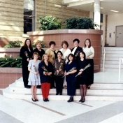 HSC2011/2 March 23, 2001. Back row: Jill Milne, Angie Wieler, Deanna Hupe, Christine Chartrand, Jacquie Laliberte, Joanna Velasco; Front row: Cheryl Walker, Brenda Thompson, Myra Aquino, Kim Plouffe, Diane Baker; Absent: Cindy Voakes