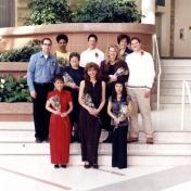 HSC2011/2 March 28, 2002. Back row: Adi Singh, Robert Martin, Susan Leonard; Middle row: Kevin Campbell, Kathy Almey, Ruth Dondo, Calvin Pelletier; Front row: Armela Buan, Wendy Janz-Marion, Glenda Cerqueira; Absent: Cynthia Brunsel.