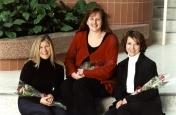 HSC2011/2 February 28, 2003. Left to right: Angela Lesiuk, JoAnne Paterson, Mary-Ann Kalyniak.