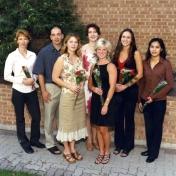 HSC2011/2 September 2003. Back row: AnneMarie Favel, Dean Grabowski, Kirstin Carver, Sharon Melnick, Mary (Jennifer) Liberato; Front row: Tracey Cline, Tara Mack; Absent: Karlene Hudson, Lorena Thiessen.