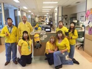 IICU team for Hand Hygiene Campaign