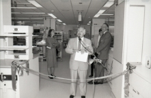 Official opening of NICU, 2 September 1986