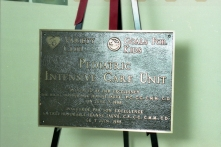 Official opening of the new Pediatric ICU, 13 December 1988.