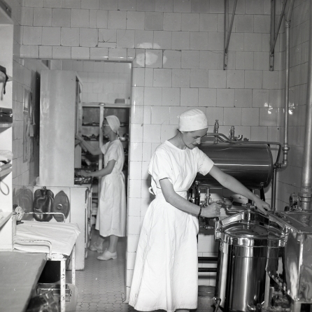The Recovery Room in 1953, on F-3 Balcony.