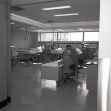 Recovery Room on G7 in 1961.