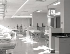 The new Recovery Room on G7 in 1961.