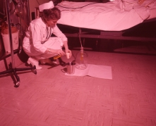 Urine Measure in the Recovery Room, 1962.