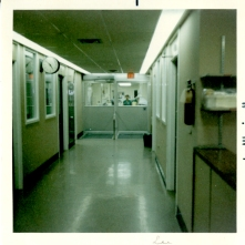 Interior of ICU on H7, August 1968