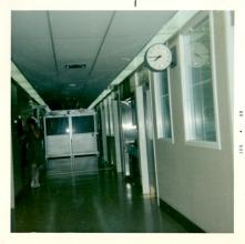 Interior of ICU on H7, June 1969