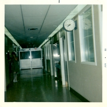 Interior of ICU on H7, June 1969