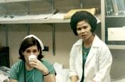 Two ICU student nurses, June 1969