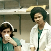 Two ICU student nurses, June 1969