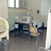 ICU equipment, August 1968