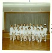 Intensive Care Nursing Course graduation photo, 1970.