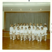 Intensive Care Nursing Course graduation photo, 1970.
