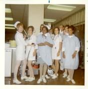 ICU nursing staff, 1970