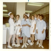 ICU nursing staff, 1970