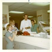 ICU staff, 1970