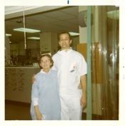 Richard Klassen, ICU orderly. 1970.