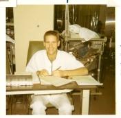 Dr. Brian Hunt, 1970
