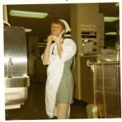 ICU nurse, 1970