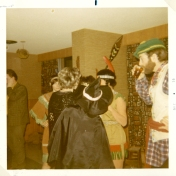 Costume party, 1970