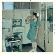 ICU nurse, 1969
