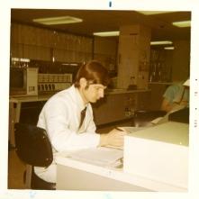 Dr. Russell McKenzie Perkins, Senior Resident July - December 1970. November 1970.