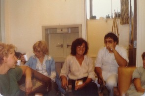 Nurse in middle wearing white blouse is Suzanne Searle, amazing nurse. Male nurse is Doug Kinley later MScN & PhD. Doug became HSC School Director in my final year at HSC school of nursing. Doug passed away September 10, 2008.