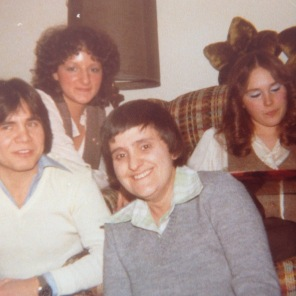 Foreground left, Allan & right Beth. Background right is Laverne Hogg RN and left is Susan?