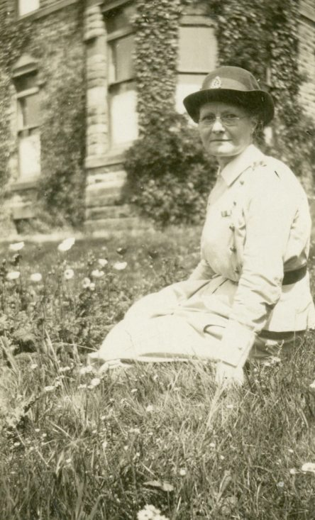 [Alfreda Attrill] Among the Poppies, Bishop's Dale, Buxton