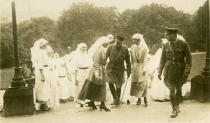 The Matrons and Sisters with the Duke of Connaught. June 1918, Buxton