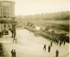 Inspection by Duke of Connaught before C.D.D. 1918, England