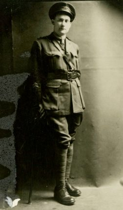 Captain Patterson in charge of Medical, England