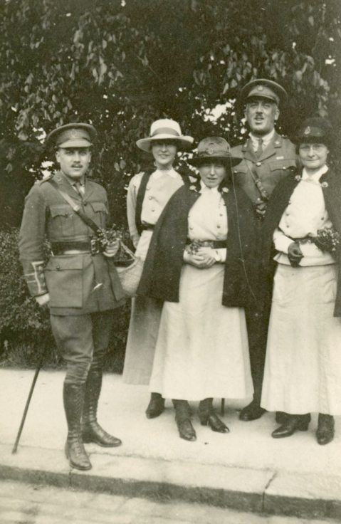 AJA [Alfreda Attrill] and 4 others in Buxton. England