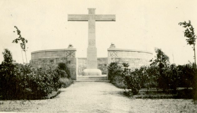 Boche Cemetery at Cambria, France