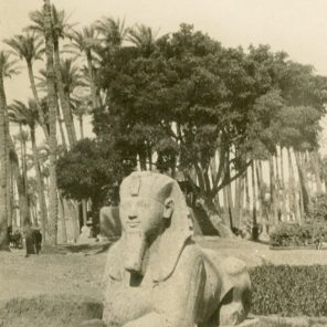 Sphinx statue in Egypt