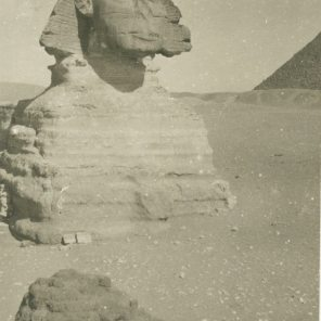 Deteriorating Sphinx, Egypt