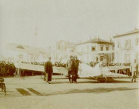 German Plane 1 [White Tower of Thessaloniki, Macedonia]