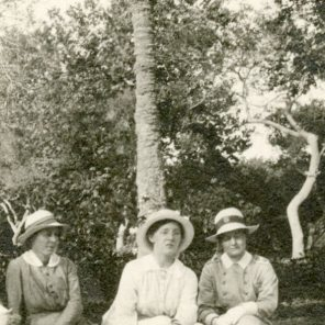 Three nursing sisters, including [Alfreda Attrill], Egypt
