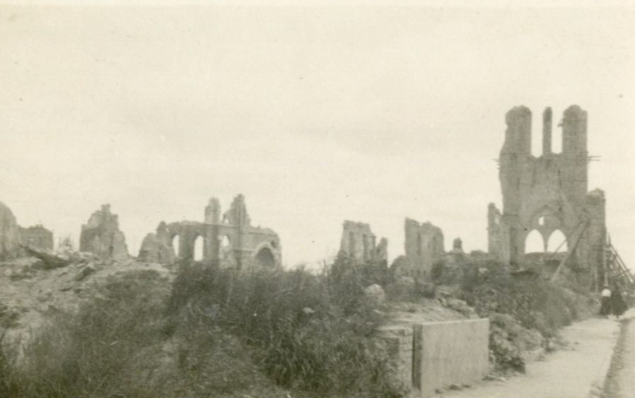 Ruins [Arras Cathedral], France