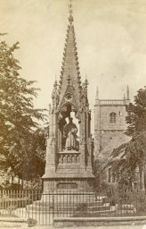 Bishop Hooper's Memorial, Gloucester, England