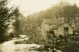 The old mill Ashwood Dale, England