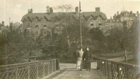 Grosvenor Hotel, our billet Buxton, England, 1918