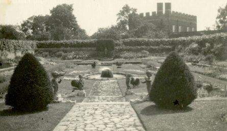 Garden near Thames embankment, England
