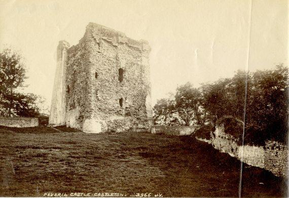 Peveril Castle, Castleton, Derbyshire, England